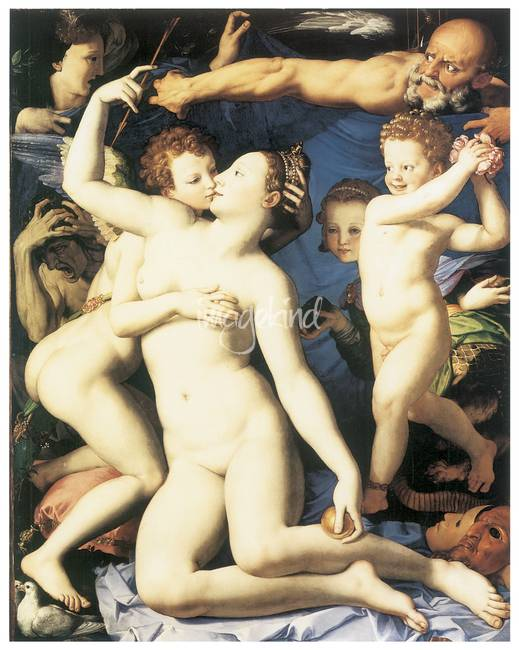 Allegory by Agnolo Bronzino