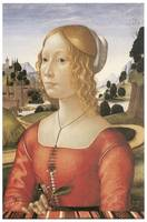 Portrait of a Lady by Domenico Ghirlandaio