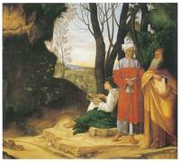 The Three Philosophers by Giorgione