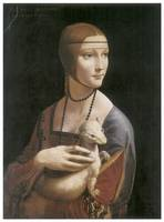 The Lady with an Ermine by Leonardo Da Vinci