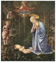 Virgin Adoring the Child by Fra Filippo Lippi
