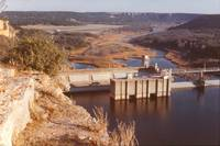 Possum Kingdom Dam, Brazos River, Texas