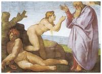 The Creation of Eve by Michelangelo Buonarroti
