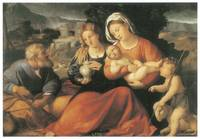 The Holy Family by Palma the Elder