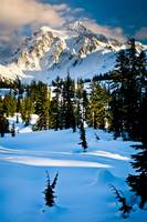 Towering Mount Shuksan