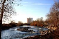 Grand Sierra Casino and Truckee River