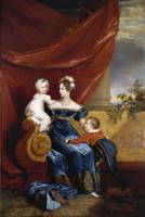 Charlotte, Empress of Russia, with her eldest chil