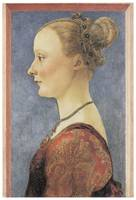 Portrait of a Young Woman by Del Pollaiuolo