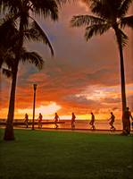 _Sunset@ Waikiki Beach III