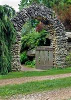 Beyond the Gate - Stacked Stone Archway