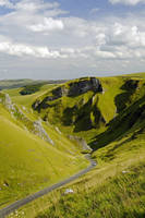 Looking Down Winnats Pass (29775-RDA)