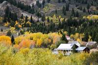 Silver City, Idaho in Fall Colors