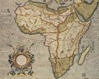 Map of Africa, by Gerard Mercator (1512-94)