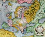 Mercator Atlas, Europe in the 1590s