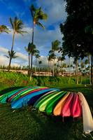 Colorful kayaks 02996