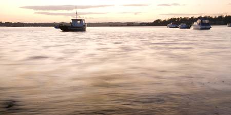 Wexford Harbour at sunset