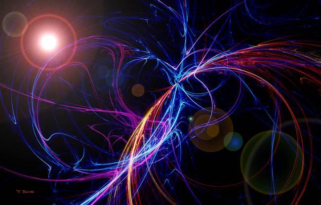 """Cosmic Fantasy Fractal Blacklight: Stunning """"Cosmic"""" Artwork For Sale On Fine Art Prints"""