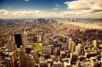 Arerial view of Manhattan