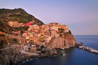 Manarola, Cinque Terre, Italy - view from cliffs