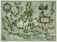 Map of the East Indies, pub. 1635 in Amsterdam