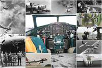 Boeing B-17 Flying Fortress collage