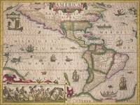 Map of America, from the Mercator 'Atlas'