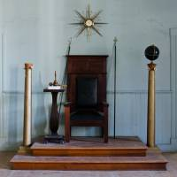 Masonic Throne by Rob Dobi