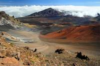 Volcano crater, Haleakala national park