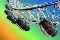 London Eye abstract