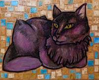 The  Muse (Portrait of a Cat)