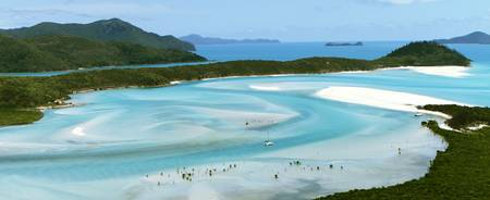 Hill Inlet at Whitehaven Beach