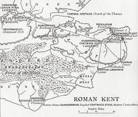 Map of Roman Kent, England