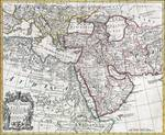 Map of Turkey, Arabia and Persia Posters
