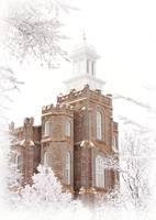 Logan Utah LDS Temple V by David Kocherhans
