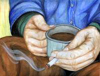 Cup of Coffee and a Cigarette