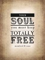 Your Soul You Must Keep (Sepia)