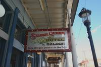 Front of the Silver Queen Saloon