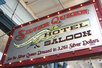 Silver Queen Saloon Sign