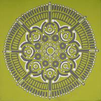 Apple Green Mandala