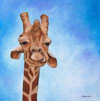 giraffe - norman by tracie brown