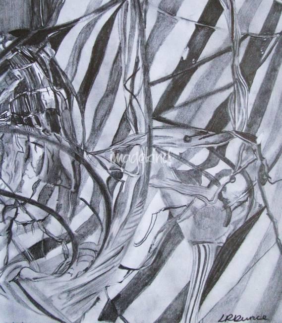 Drawing broken glass artwork for sale on fine art prints for Broken mirror art