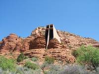 Chapel Of The Holy Cross, Sedona Arizona