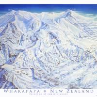 Whakapapa New Zealand Art Prints & Posters by James Niehues