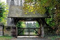 Lychgate to St Paul's Church, Scropton (20769-RDA)