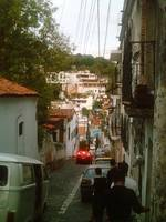 Taxco Street to Zocalo  - leaving with sore feet