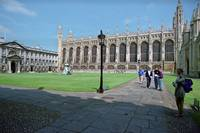 Gibbs Building & Chapel, King's College, Cambridge