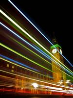Big Ben Light Streak