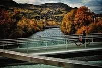 Museion Bridge - Autumn