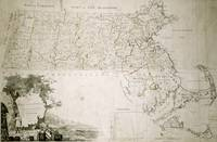 Map of the state of Massachusetts