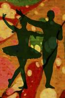 Ballet Dancers Abstract